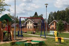 Детская площадка в парке ЖК «Экодолье Белкино»