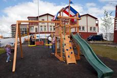 Детская площадка в мкр. «Гагарина»